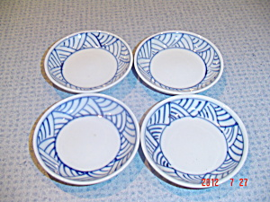 Blue And White Asian Fish Serving Set 20 Pc. Set
