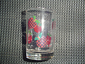 International Applejack Juice Glasses