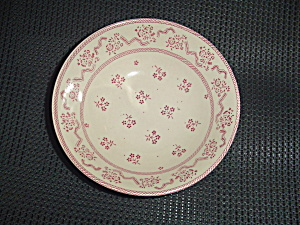 Johnson Laura Ashley Petite Fleur Burgundy/pink Serving Bowl Damage