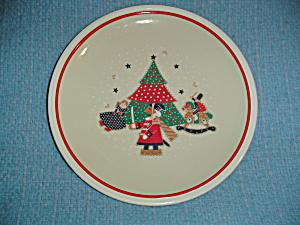 Noritake Epoch Holiday Joy Dinner Plates