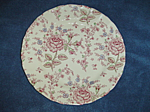 Johnson Bros Rose Chintz Dinner Plates