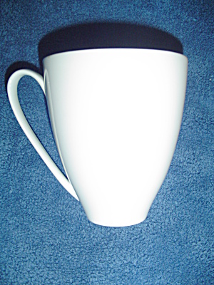 Denby China White Mugs