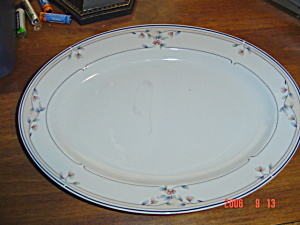 Princess House Heritage Blossom Dinner Plate