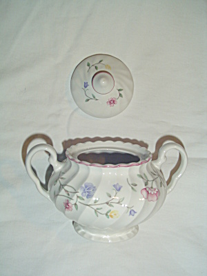 Johnson Bros. Summer Chintz Covered Sugar Bowl