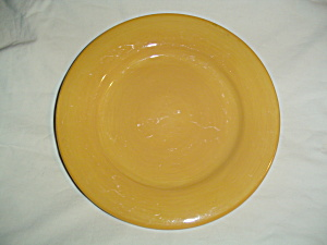 Artimino Ciao Ii Yellow Round Lunch/salad Plates
