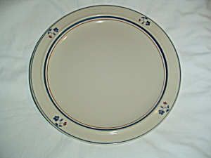 Noritake Epoch Blue Chintz Dinner Plates