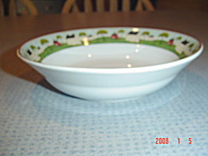 Sakura Country Life Cereal Bowls