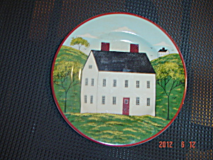 Sakura Country Life White House #2 Salad Plates