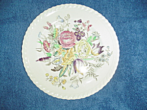 Vintage Johnson Bros Garden Bouquet Dinner Plates