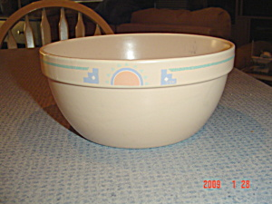 Treasure Craft Southwest Medium Stacking Mixing Bowl