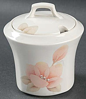 Nikko Virginia Rose Covered Sugar Bowl