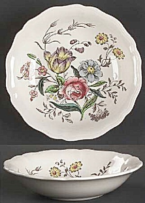 Spode Copeland Gainsbourough Rimmed Soup/cereal Bowls