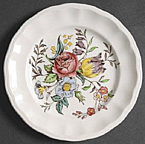 Spode Copeland Gainsborough Bread And Butter Plates