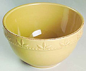Signature Sorrento Wheat Gold Deep Cereal Bowls