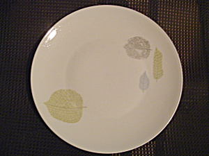 Antique Rosenthal Leaf Dinner Plates - 4 Different Color Leaves