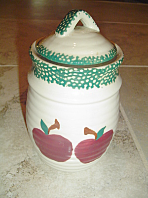 Alco Industries (International China) Applejack Covered Sugar Canister