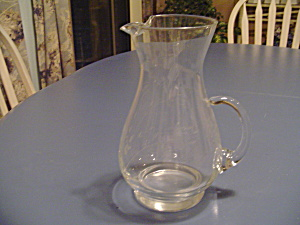 Princess House Heritage Serving Pitcher