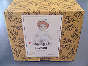 Zampiva Little Sailor Girl Doll New In Box