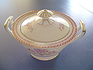 Noritake Mystery 179 Covered Sugar Bowl