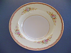 Noritake Mystery 179 Rimmed Soup Bowls