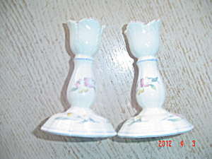 Villeroy & Boch Riviera Pair Of Candle Holders