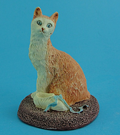 Miniature Resin Cat