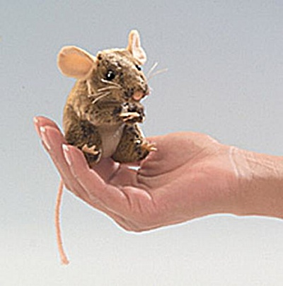 Folkmanis Finger Puppet Field Mouse
