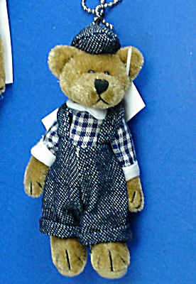 Miniature Plush Country Teddy Bear
