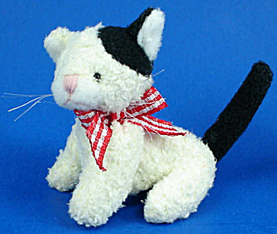 Miniature Plush Cat