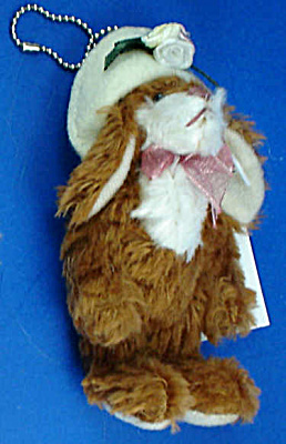 Miniature Plush Bunny Rabbit