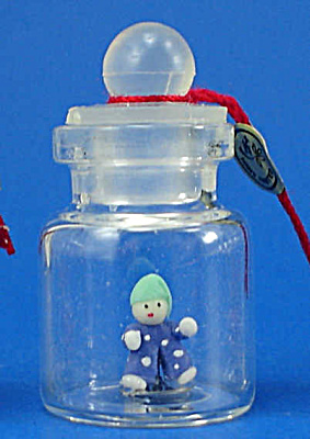 Miniature Clown Doll In A Bottle