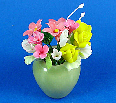 Dollhouse Miniature Flower Arrangement