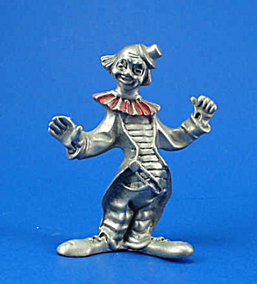 Pewter Miniature Clown