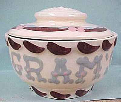Cleminson's Gramdma Bowl With Lid