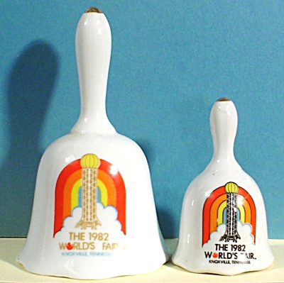 Two 1982 Worlds Fair Knoxville Bells