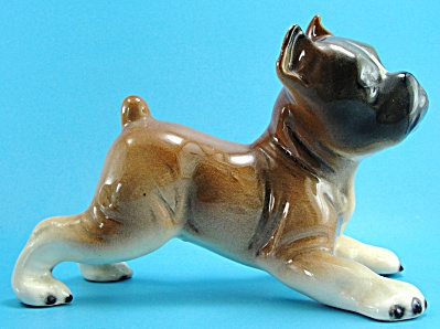 Western Germany Porcelain Boxer Puppy Dog
