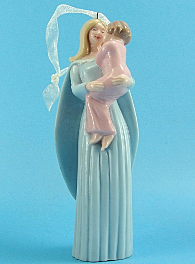 2005 Hallmark Angel And Child Ornament