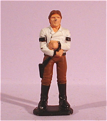 Miniature Metal Star Wars Hans Solo