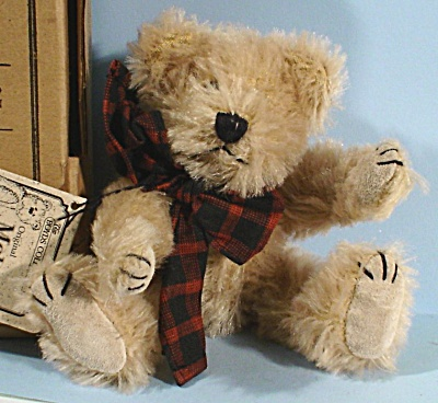 Boyds Mohair Bear, Adam F. Bearington