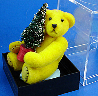 World Of Miniature Bears Plush Bear With Tree