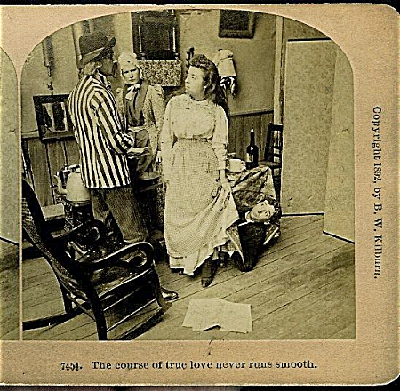 Stereoview - True Love Never Runs Smooth.