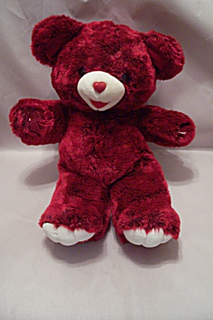 Dan Dee 2003 Red Plush Stuffed Teddy Bear