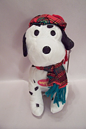 Squeaky Pedigree Puppy Stuffed Toy Dog
