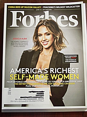 Forbes, Volume 195, No. 8, June 15, 2015