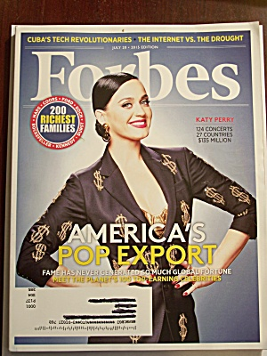 Forbes, Volume 196, No. 1, July 20, 2015