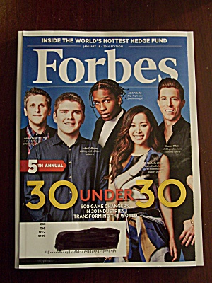 Forbes, January 18, 2016