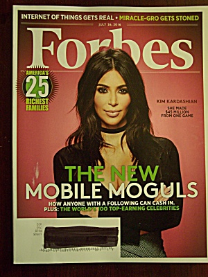 Forbes, Volume 198, No. 1, July 26, 2016
