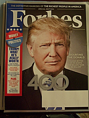 Forbes, Volume 196, No. 5, October 19, 2015