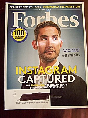 Forbes, Volume 198, No. 2, August 23, 2016