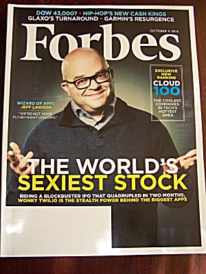 Forbes, Volume 198, No. 4, October 4, 2016